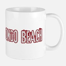 REDONDO BEACH (distressed) Mug