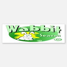 Bunny Wabbit Bumper Bumper Bumper Sticker
