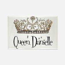 Queen Danielle Rectangle Magnet