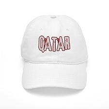 QATAR (distressed) Baseball Cap