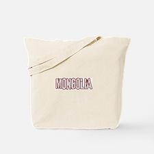 MONGOLIA (distressed) Tote Bag