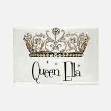 Queen Ella Rectangle Magnet