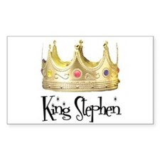 King Stephen Rectangle Decal