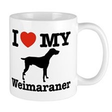 I love my Weimaraner Mug