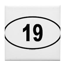 19 Tile Coaster
