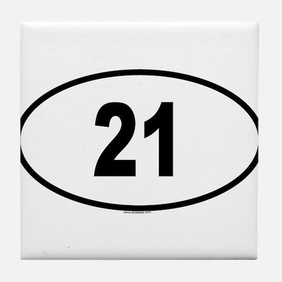 21 Tile Coaster