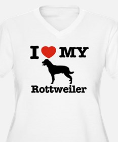 I love my Rottweiler T-Shirt