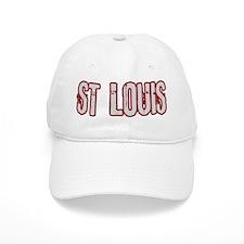 ST LOUIS (distressed) Baseball Cap