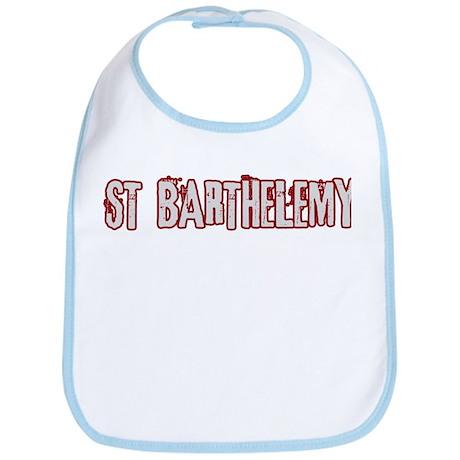 ST BARTHELEMY (distressed) Bib