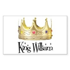King William Rectangle Decal