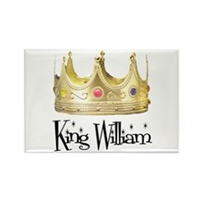King William Rectangle Magnet