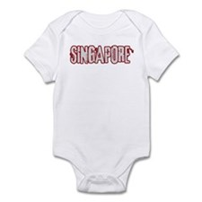 SINGAPORE (distressed) Infant Bodysuit