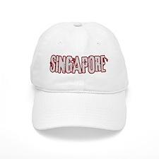 SINGAPORE (distressed) Baseball Cap