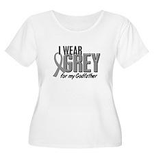 I Wear Grey For My Godfather 10 T-Shirt