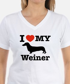 I love my Weiner Shirt