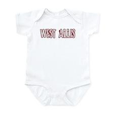 WEST ALLIS (distressed) Infant Bodysuit