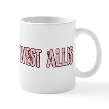 WEST ALLIS (distressed) Mug