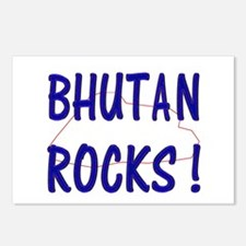 Bhutan Rocks ! Postcards (Package of 8)