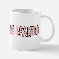 SAN LEANDRO (distressed) Mug