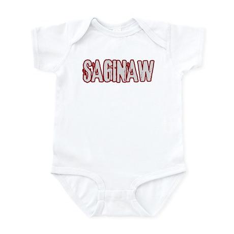 SAGINAW (distressed) Infant Bodysuit