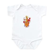 LANCASTER DUCHY Infant Bodysuit