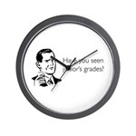 Junior's Grades Wall Clock