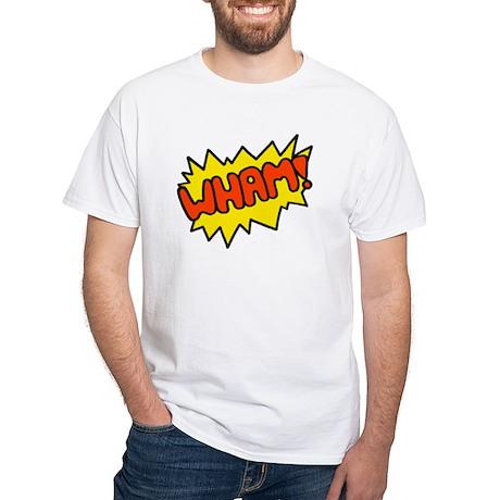 'Wham!' White T-Shirt