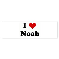 I Love Noah Bumper Sticker (10 pk)