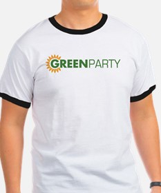 Green Party Logo (sunflower)  T