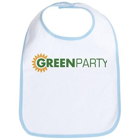 Green Party Logo (sunflower) Bib