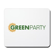 Green Party Logo (sunflower)  Mousepad