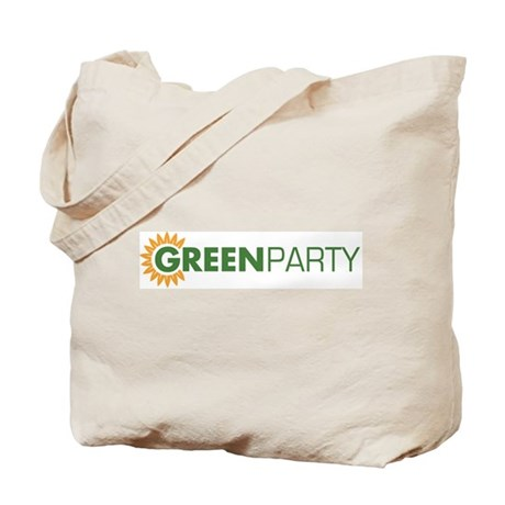 Green Party Logo (sunflower) Tote Bag