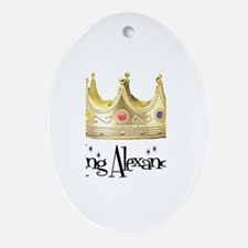 King Alexander Oval Ornament
