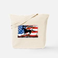 Real American Horsepower Tote Bag