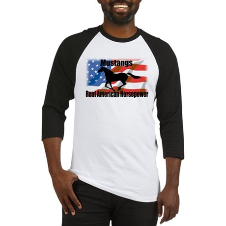 Real American Horsepower Baseball Jersey