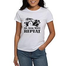 Eat, Sleep, Wheel - REPEAT Tee