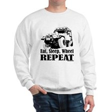 Eat, Sleep, Wheel - REPEAT Sweater