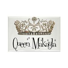 Queen Makayla Rectangle Magnet