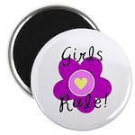 Girls Rule Magnet