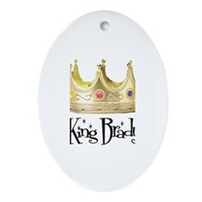 King Brady Oval Ornament