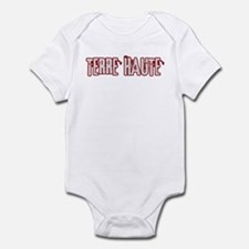 TERRE HAUTE (distressed) Infant Bodysuit