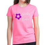 Girls Rule Women's Dark T-Shirt
