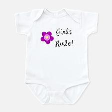 Girls Rule Infant Bodysuit