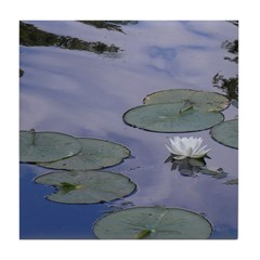 Lilly Pads Tile Coaster