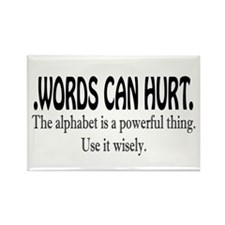 Words Rectangle Magnet (10 pack)