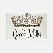 Queen Molly Rectangle Magnet