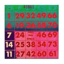 bingo coaster
