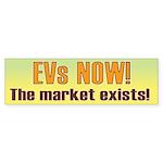 EVs NOW! Bumper Sticker (50 pk)