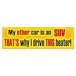Other Car SUV Bumper Sticker (10 pk)