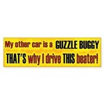 No Guzzle Buggy Bumper Sticker (10 pk)